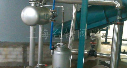 浙江德清旺能環保能源公司冷凝水回收現場詳圖