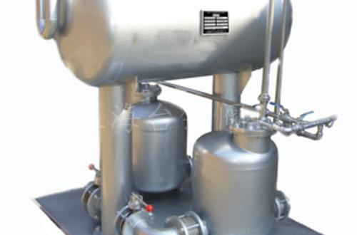 气动双泵冷凝水回收装置