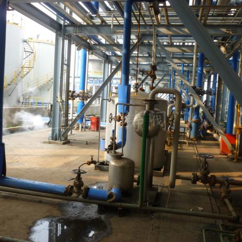 巴斯夫(上海)有限公司冷凝水回收設備現場