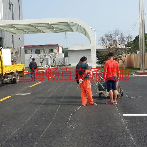 上海厂区热熔划线 停车位划线 地面划线 车库划线 厂区道路划线