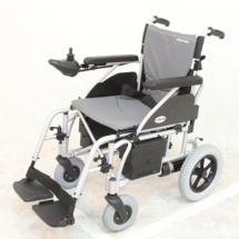 台湾美利驰老年人电动轮椅 高端折叠电动代步车 残疾人轮椅