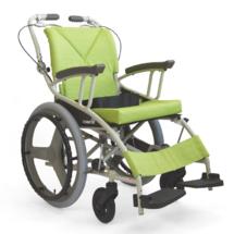 日本河村轮椅AY18-45超轻轮椅便携折叠旅游轮椅品牌轮椅