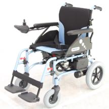 台湾美利驰电动轮椅 电动代步车 超轻折叠残疾人代步车电动轮椅