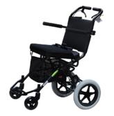中进轮椅412 超轻折叠铝合金便携旅行轮椅 上海实体