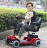 台湾美利驰老年代步车 电动代步车 高端配置 轻便折叠 上海实体店