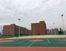 江苏苏州塑胶篮球场