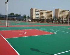 上海硅pu篮球场