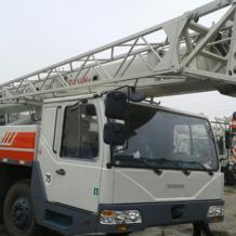 二手中联25v(吨)汽车吊机