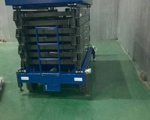 江苏某大型电力设备研究所---16米移动剪叉平台DN04009