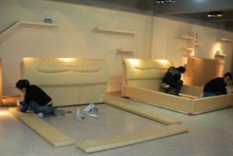 家具的整體搬裝應注意的事項