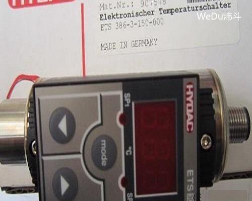 Hydac温度继电器ETS 386-3-150-000