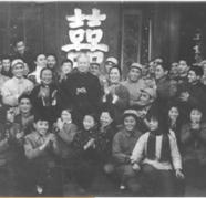 刘少奇等领导接见《芦荡火种》剧组