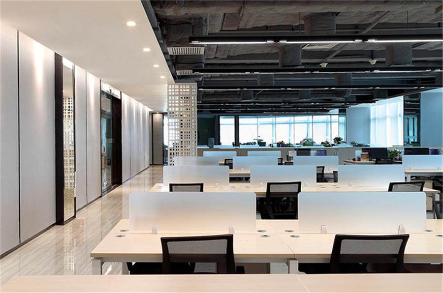 上海创捷科技有限公司办公区域装修设计