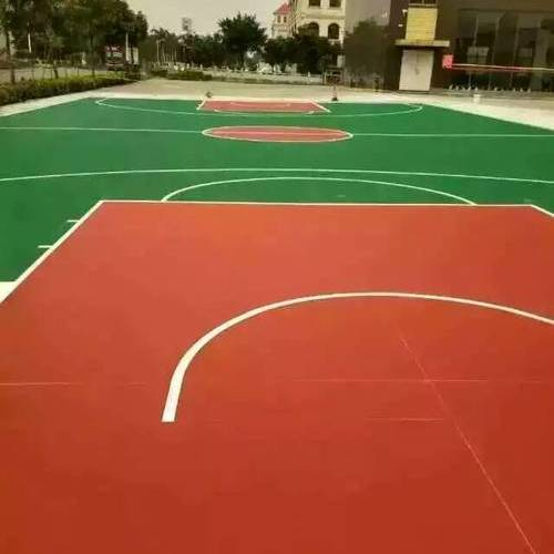 篮球场室内运动地板与室外场地