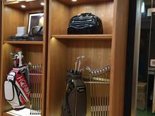 高尔夫球杆展示架
