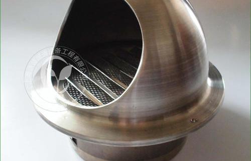 不锈钢出气口 防雨罩 外墙风口