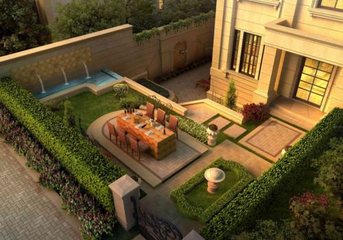 別墅綠化設計別墅綠化設計