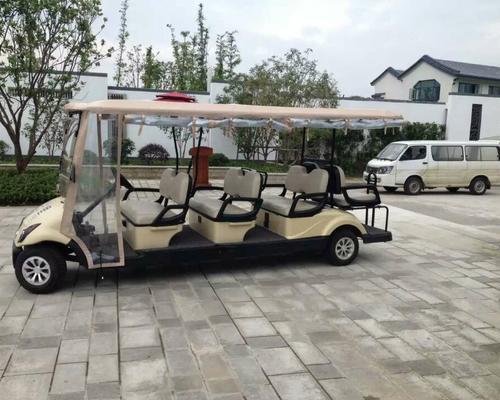 东风品牌8人座豪华型高尔夫球车EQ9062(V8)-江苏某楼盘现场