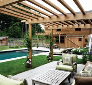 木屋园林绿化