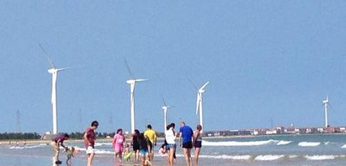 视频:网友拍摄——美丽的东楮岛沙滩