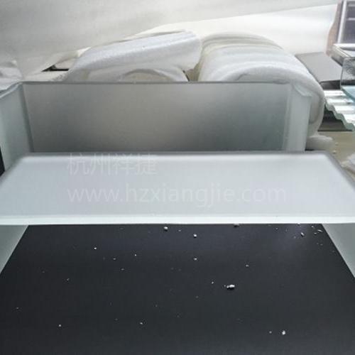 U型玻璃(蒙砂)