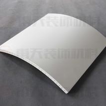 弧形铝蜂窝板