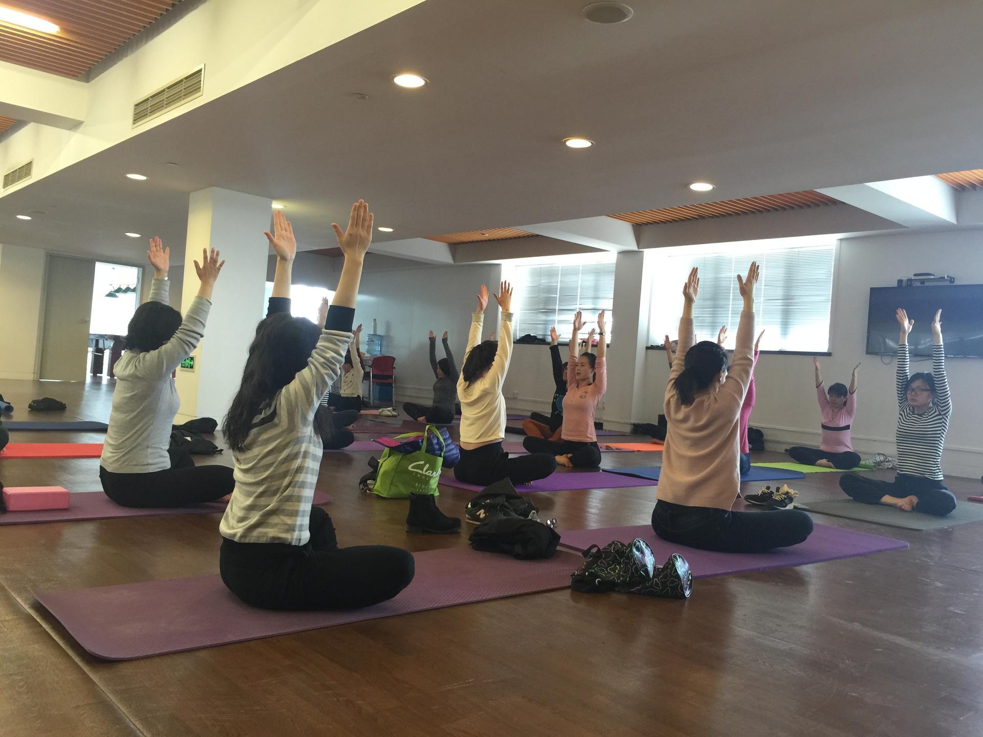 公司瑜伽健身课
