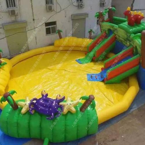 充气游泳池小恐龙乐园