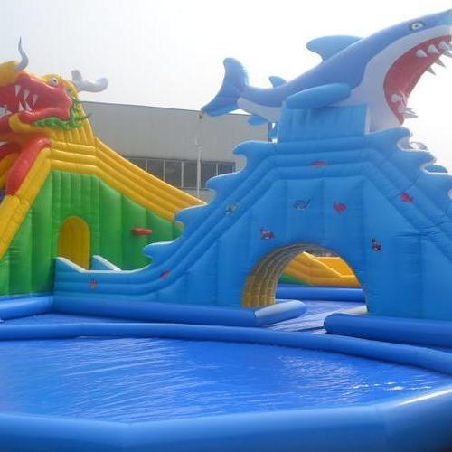 充气游泳池龙鲨乐园