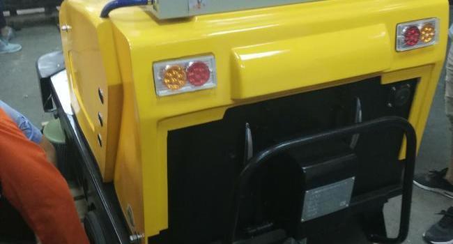 中国人民银行-驾驶式电动扫地机