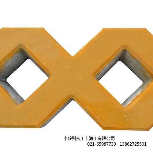 光滑面植草砖黄色.JPG