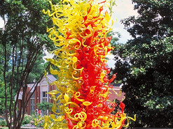 江西中央公园--玻璃雕塑