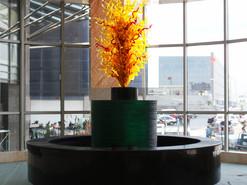 凯德大厦-玻璃雕塑