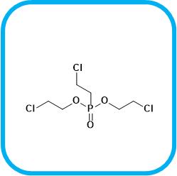 双(2-氯乙基)-(2-氯乙基)膦酸酯 6294-34-4.png