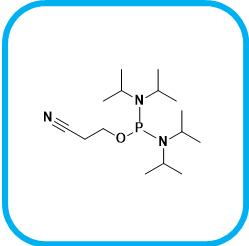 双(二异丙基氨基)(2-氰基乙氧基)膦 102691-36-1.png