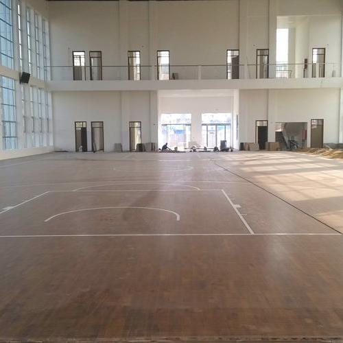 木地板室内篮球场