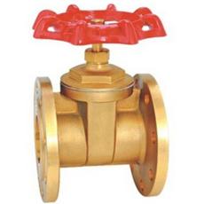 Z45W黃銅法蘭閘閥