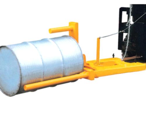 RS3072 可垂直叉车专用油桶夹