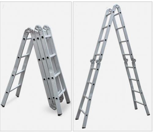 RS6088多功能铝合金六关节梯