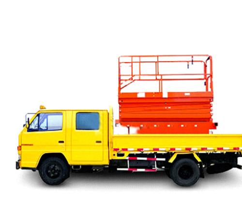 RS6018  车载剪叉式高空作业平台