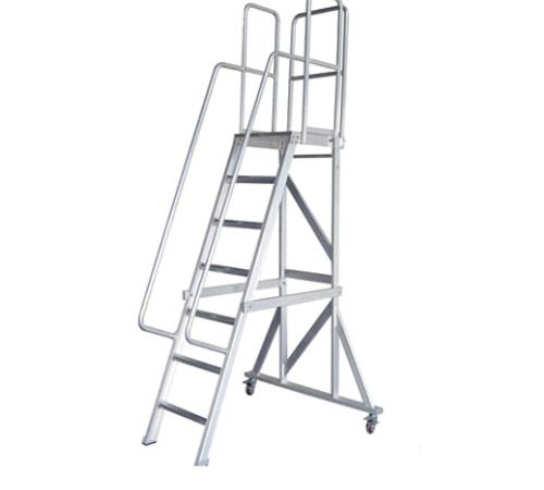 RS6084 铝合金可拆卸平台手扶梯