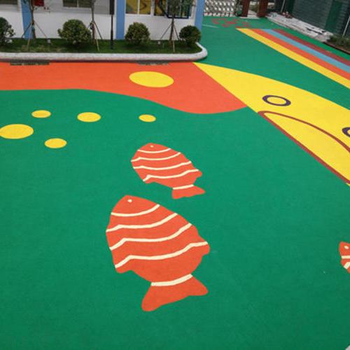 幼儿园塑胶地面专业承包