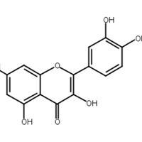 槲皮素,栎精,槲皮黄素,CAS:117-39-5