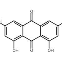 大黃素,朱砂蓮甲素,CAS:518-82-1