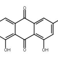 大黃酚,大黃根酚,大黃根酸,CAS:481-74-3