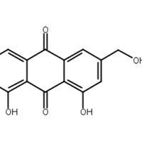 蘆薈大黃素,蘆薈瀉素,CAS:481-72-1