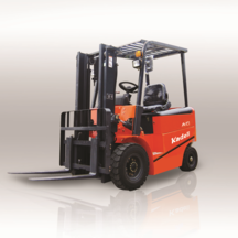 Four wheel balance heavy forklift truck