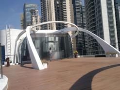 上海游艇会大型不锈钢装饰雕塑