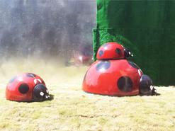 阳光城绿地瓢虫雕塑