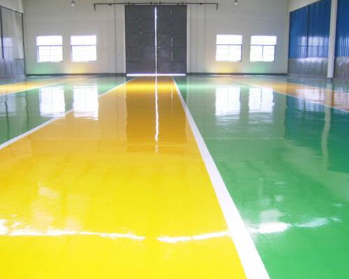 环氧树脂砂浆耐磨地坪
